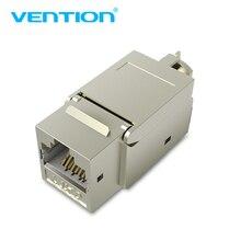 Vention Cat7 Ethernet מחבר RJ45 מודולרי Ethernet כבל ראש תקע מצופה זהב חתול 7 מגן רשת מחבר עבור Lan כבל