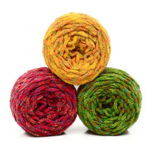 Wool Flash Light Line Hook Ice Chenille Thick Scarf Sewing Hand Knitting Yarn Hats Scarves Crochet Thread QW033