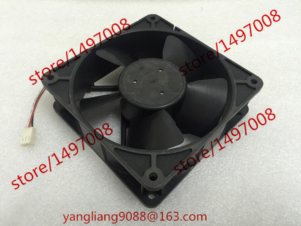 Free Shipping Emacro MECHATRONICS F1238H12B1 DC 12V 0.440A 3-wire 3-pin connector 110mm 120x120x38mm  Server Cooling Square fan  free shipping emacro servo e0720h24b8as 35 dc 24v 0 16a 3 wire 3 pin connector 65mm server blower cooling fan