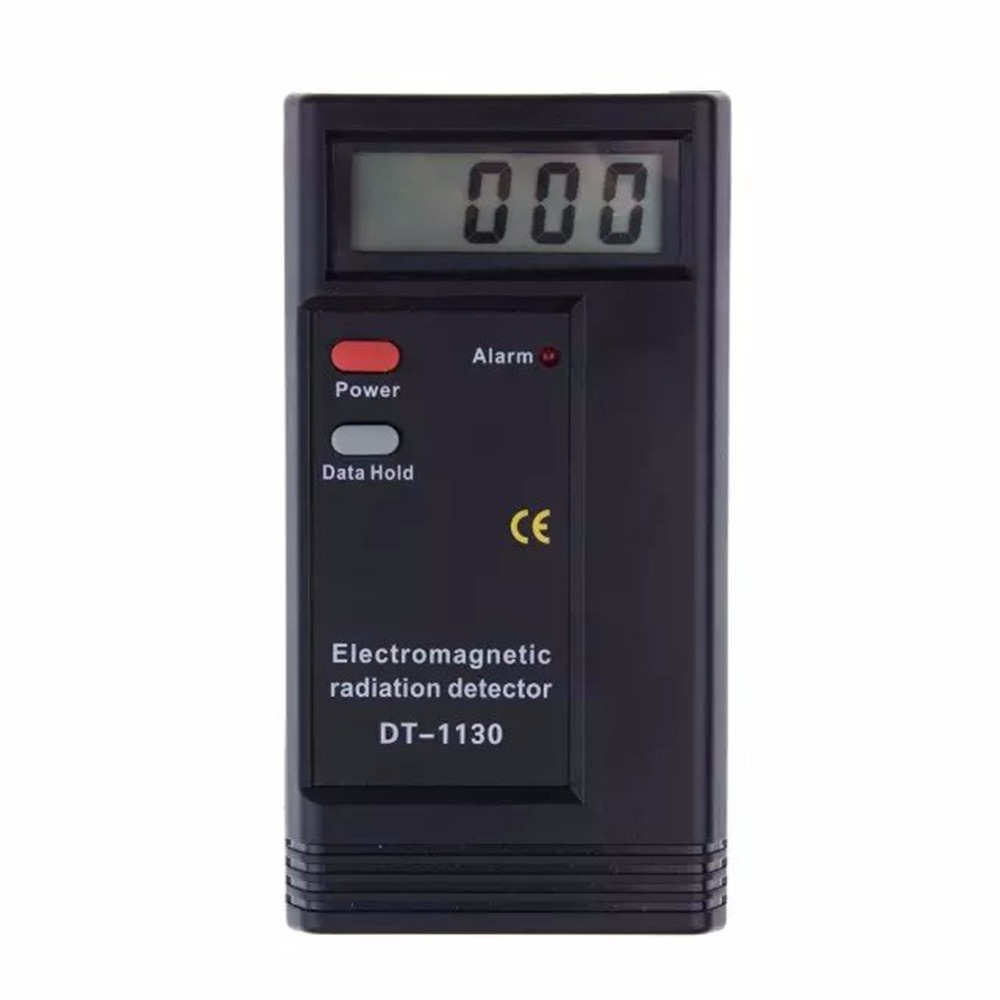 Digital LCD Electromagnetic Radiation Detector EMF Meter Dosimeter Tester Counter w/ Electromagnetic Radiation Sensor  цены