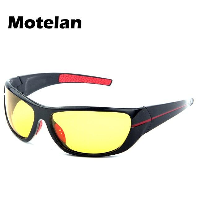 356a3fd68f65e0 Nieuwe mannen Gepolariseerde Zonnebril voor Night Rijden Geel Lens Man  Polariserende Nachtzicht Brillen Verminderen Glare Bril