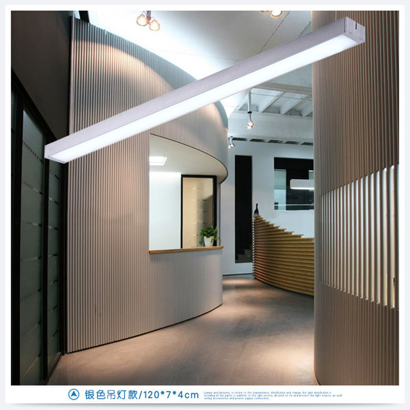 Simple Modern Aluminum Office Led Lights Building Ceiling