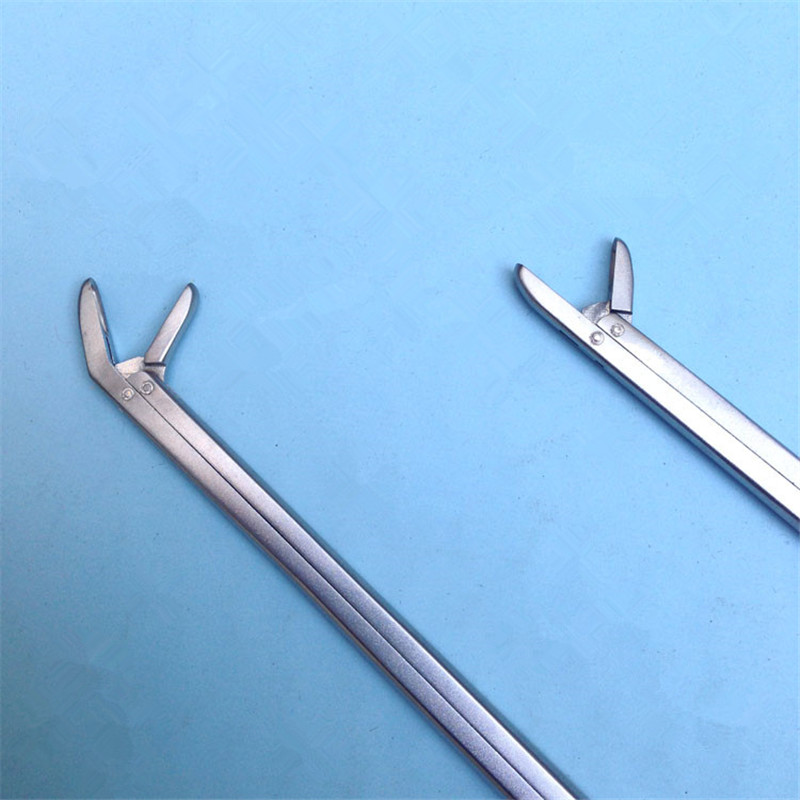 Straight Head 220mm/240mm Nucleus Pulposus Forceps Bone Forceps  Bone Scissors Veterinary Orthopedics Instruments