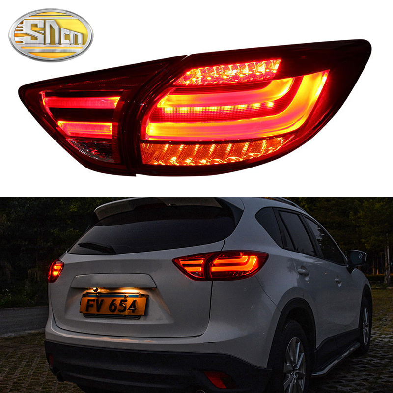 Car LED Tail Light Taillight For Mazda CX-5 CX5 2013 2014 2015 2016 LED Rear Running Light  + Brake Lamp + Turn Signal Light