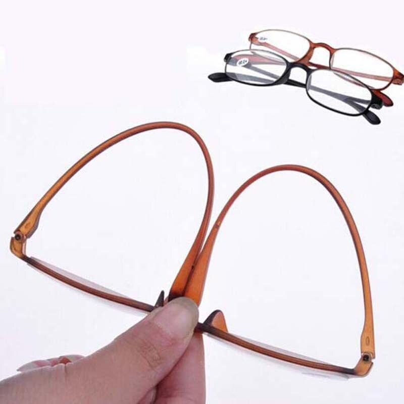TR90 Frame Resin Lens Black / Brown Color Unisex Eyeglasses Points To Reading Glasses +1.0 +1.5 +2.0 +2.5 +3.0 +3.5 +4.0