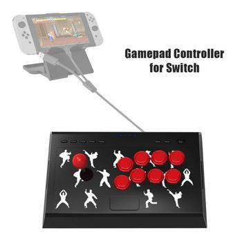 High Quality 3D Joystick for PC X-input/Nintend Switch Game Handle Rocker Fight Stick for Switch Action Game Controller for NS