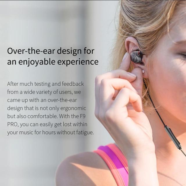 FiiO F9 Pro Triple Pilote Hybride In-Ear Monitors earphone 1 synamic and 2 balanced armature drivers 4