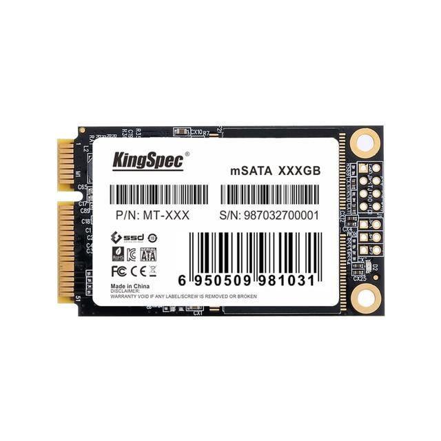 KingSpec mSATA 128gb 256GB 512GB Mini SATA SSD 512gb Mini Pcie mSATA SSD mSATA Disk For Laptop For Desktop For Dell For ThinkPad