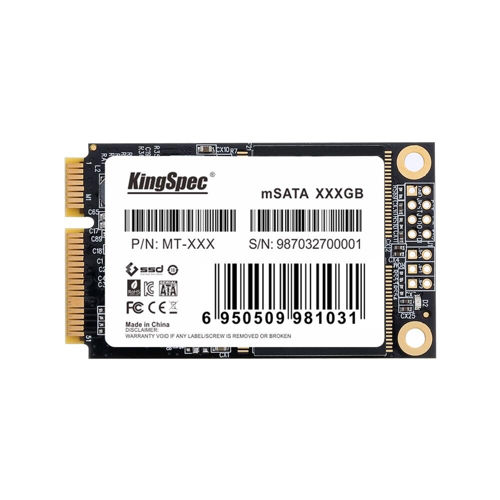 KingSpec mSATA de 128 gb 256 GB 512 GB Mini SATA SSD de 512 gb Mini Pcie mSATA SSD mSATA Disk Para laptop Para O Desktop Para Dell Para ThinkPad