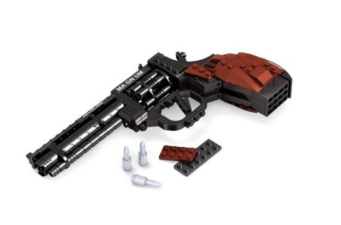 Ausini Toy Gun Series Revolver Building Blocks Hot Boy Assembling Model Christmas Gift Lego Compatible - C&T Toys store