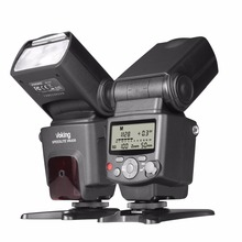 Voking VK430 I-TTL LCD ეკრანი Blitz Speedlite Flash for Nikon D5500 D3300 D7200 D3400 D5300 D500 D7500 D750 D5600 და სხვა DS
