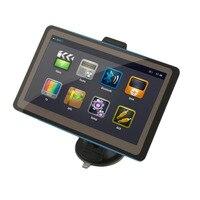 Black TFT LCD Display 7 Inch Car GPS Navigation SAT NAV 8GB Navigator With Sunshade High