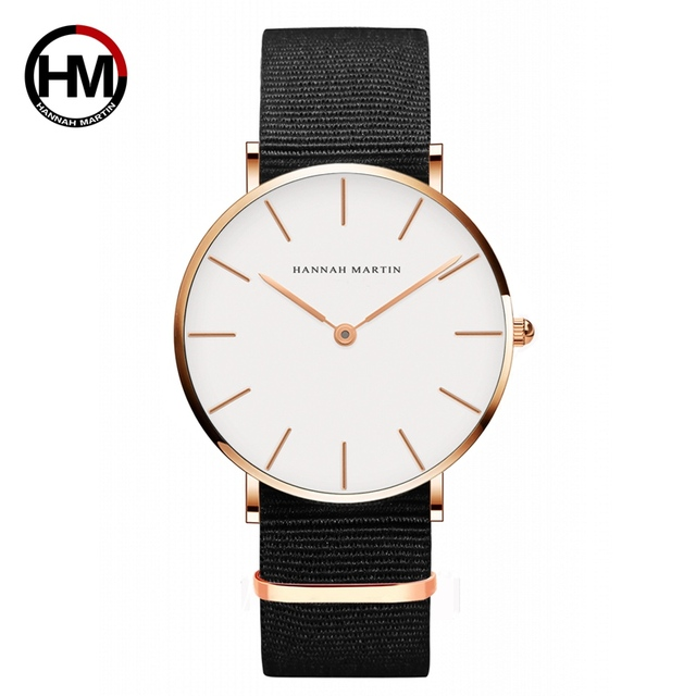Drop Shipping Watches For Men Women Simple Design Creative Japan Quartz Movement