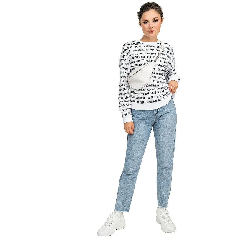 Sweaters befree 1831371467-5 jumper sweater pullover women clothes for female apparel TMallFS embroidered v neck pullover sweater