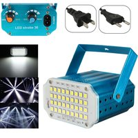 Adjustment LED RGB White Lighting Projector Laser Strobe Stage Light Effect DJ Disco Party Club KTV