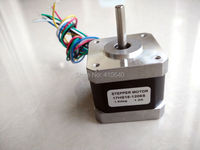 Nice Quality Stepper Motor 17HS15 1206S L 39 mm Nema17 with 1.8 deg 1.2 A 26 N.cm and unipolar 6 lead wire