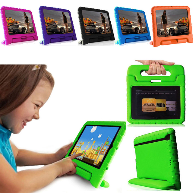 Kids Shockproof Dropproof Safe Foam Case Handle Cover Stand
