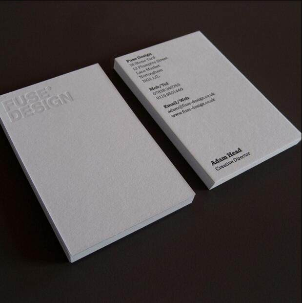 Online shop china supplier cheap 600gsm cotton paper debossed china supplier cheap 600gsm cotton paper debossed letterpress business cards reheart Images