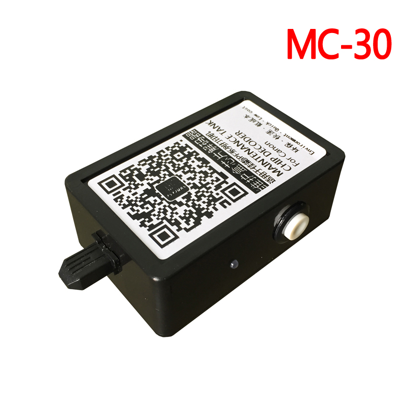 MC20 MC30 maintenance tank Chip resetter For Canon Pro1000 Pro2000 Pro4000 Pro4000S Pro6000S Pro520 Pro540 Pro560S waste inktank mc30 maintenance waste ink tank chip resetter for canon mc 30 pro 4000 4000s 560s 540 540s 520 6000s printer