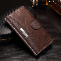 For Xiaomi Mi6 Redmi 4X 4 Case IDOOLS Original PU Leather Wallet Covers Phone Bags Cases
