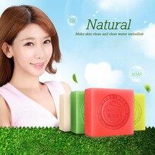 BIOAQUA Natural Handmade Oil Soap Fresh Clean Skin Nourish Tender Skin Whitening Remove Blackhead Acne SSwell
