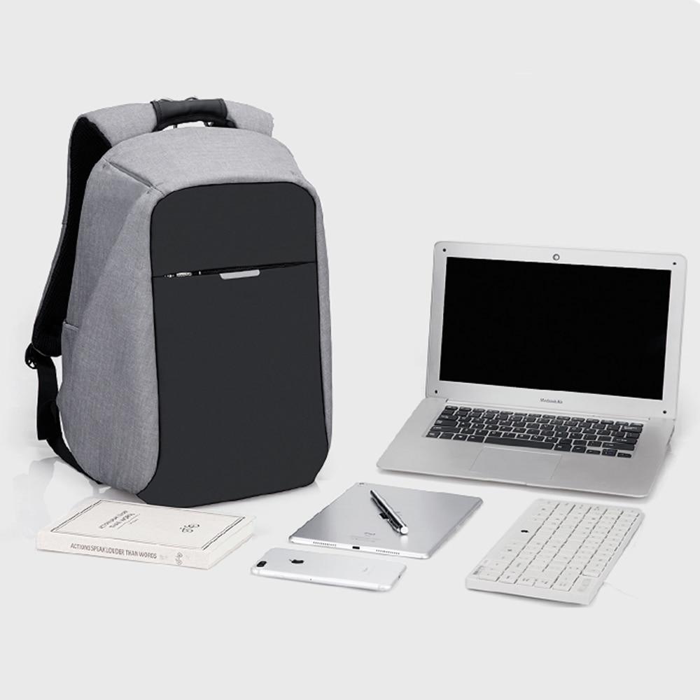 2018 Brand 16 Inch Laptop Bag Backpack Men Large Capacity Nylon fashion USB Charge Mens Backpacks Unisex Women Bagpack