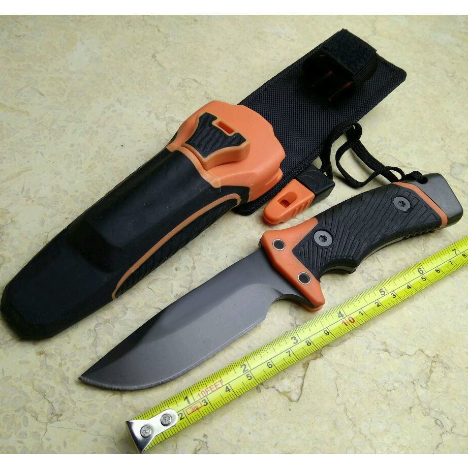 ФОТО New Pro Fixed Blade Knife Camping Hunting Survival Knives Tactical tool & Fire Starter & Diamond Sharpener