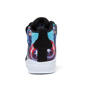 Image 4 - 2019 子供靴春秋冬子供ブーツスニーカーファッション靴通気性カジュアルシューズの漫画のヒーロー新