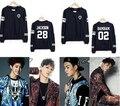 Hot venda nova Kpop GOT7 JB jr. Unisex pulôver de algodão O pescoço camisola mulheres Hoodies