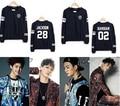 Venta caliente nueva Kpop GOT7 JB jr. Unisex jersey de algodón del o-cuello sudadera mujeres camiseta