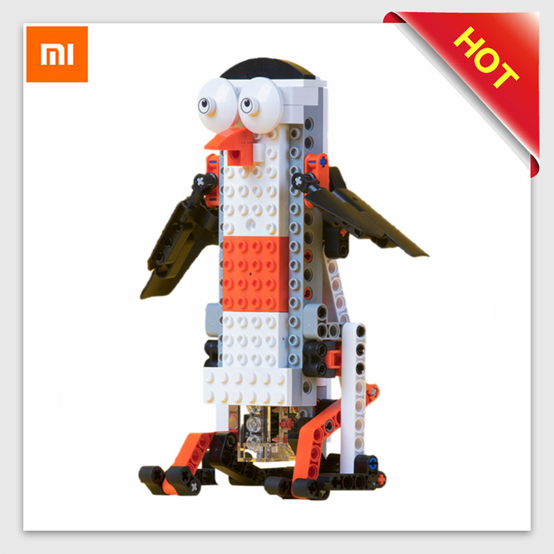 Xiaomi Robot MITU Smart Building Blocks Robot KIT Remote Control APP Control/ Programming Assembly Robot Toy Action&Toy Figures paul robot manipulators mathematics programming