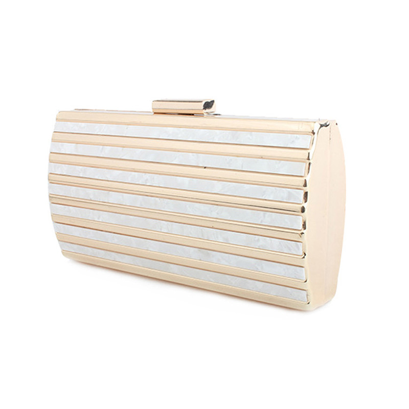 2018 Marbling pattern Day clutch Female Luxury acrylic evening bag party bag clutches chain crossbody Shoulder Bags zd896 bolsa 1