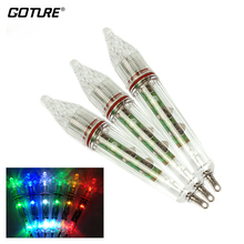 Goture 17cm/60g LED Fishing Lure Light Waterproof Fish Attractor Deep Underwater 0-300M Squid Fishing Bait Lights
