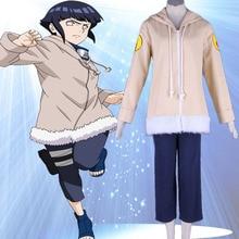 Naruto font b Anime b font font b Cosplay b font Hyuga Hinata Costume Halloween costume