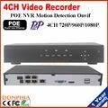 Mejor precio $ number CANALES POE NVR PoE NVR de Onvif HD 1080 P 48 V Real todo en una sola Red Grabador de Vídeo para Cámaras IP PoE P2P Nube servicio