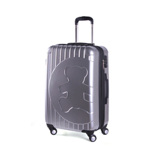 Luggage Girls Large Capacity Trolley Travel Suitcases Bag,Men Business ABS+PC Bags,Women Travelling Waterproof Spinner Bear logo