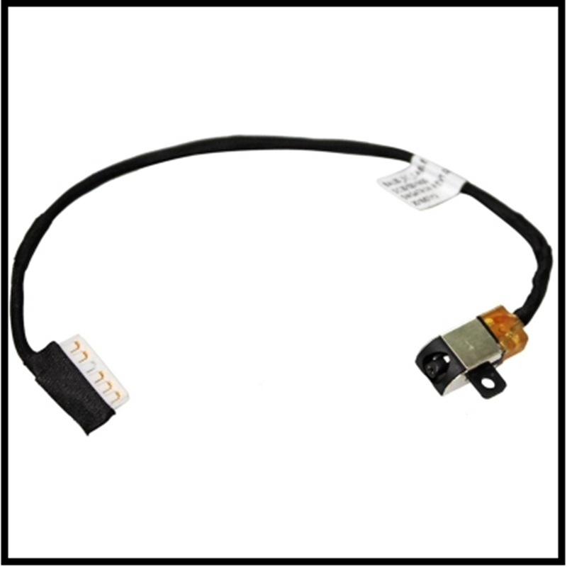 Laptop DC Power Jack Cable Charging Connector Port Wire Cord For Dell Inspiron 15 17 5570 5770 image