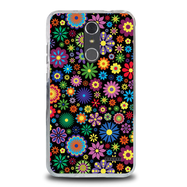 """ZTE Grand X4 case 5.5"""" Zte Z956 cover soft silicone cartoon painting case for zte grand x4 tpu cover zte z956 back cover shell"""