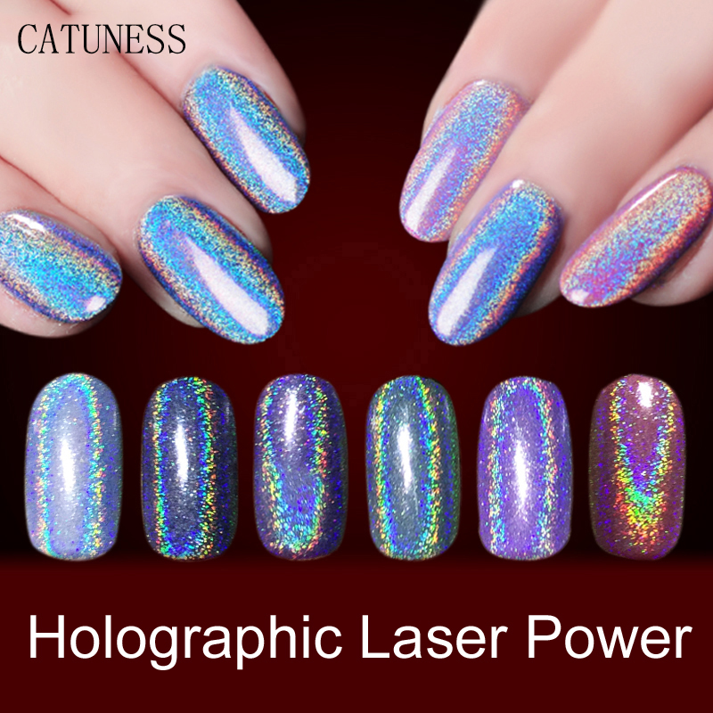 Acrylic Nail Powder Holographic: CATUNESS 2019newest Acrylic Powder Nails Accessoires