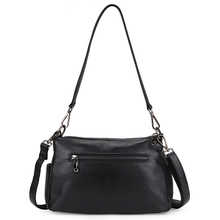 New Arrivals Double Zipper Compartment Cross-body Bags Multi-function Messenger Luxurious Genuine Leather Women Handbags