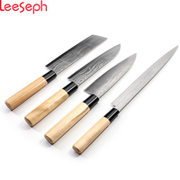Japanese kitchen knife, Sushi & Sashimi Chef Knife, Set of 4