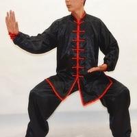 High Quality Chinese Wushu Kung Fu Uniform Martial Arts Clothing Sets Long Sleeved Tai Chi Costumes