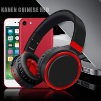 Kanen Drahtlose Große Kopfhörer für Mädchen Bluetooth Headset für Handy Drahtlose Kopfhörer mit Mic für Computer MP3 Musik-player