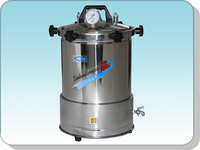Portable Tatoo Autoclave, High Pressure Steam Sterilizer Autoclave for biology lab 18L, Free Shipping