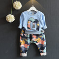 boys clothes clothing sets Camouflage girls outfit 2 pieces autumn long sleeve top+pants set children  kids unisex