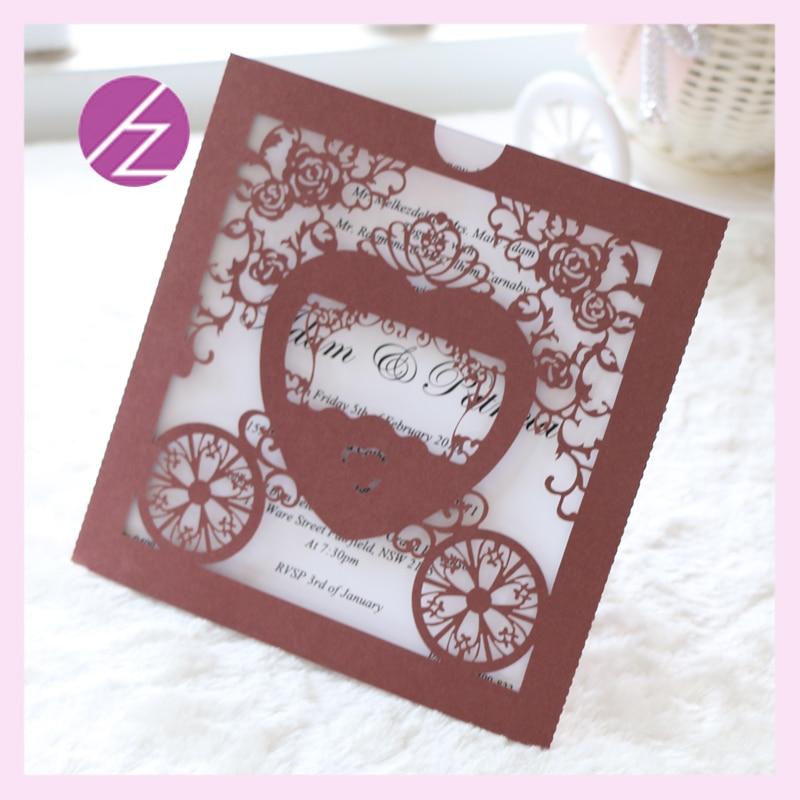 50pcslot wholesale luxury decoration greeting wedding invitation card exclusive baby shower favor invitation card qj105
