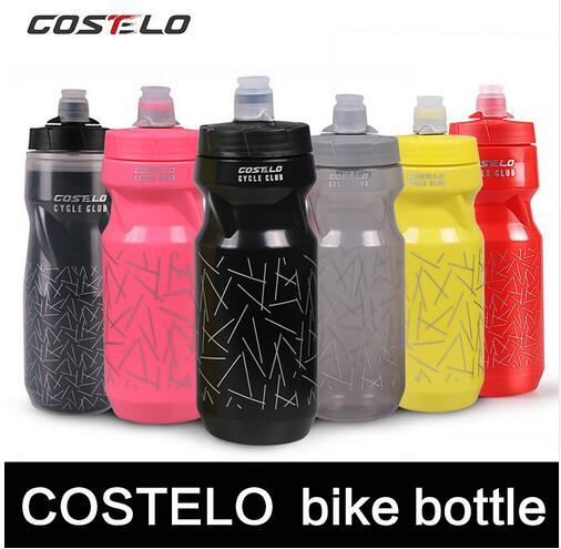 Costelo radfahren Club Radfahren Fahrradwasserflaschen Outdoor-sportarten 710 ml Glaskolben Drücken shimano elite flasche