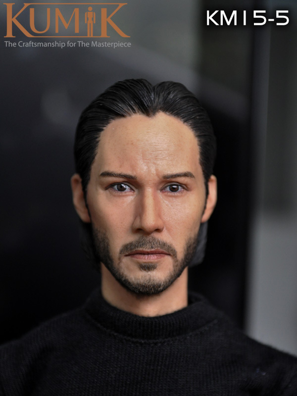 1/6 scale figure doll head shape for 12 action figure doll accessories Keanu Reeves The ronin beard male Head carved 1 6 scale figure doll head shape for 12 action figure doll accessories iron man 2 whiplash mickey rourke male head carved