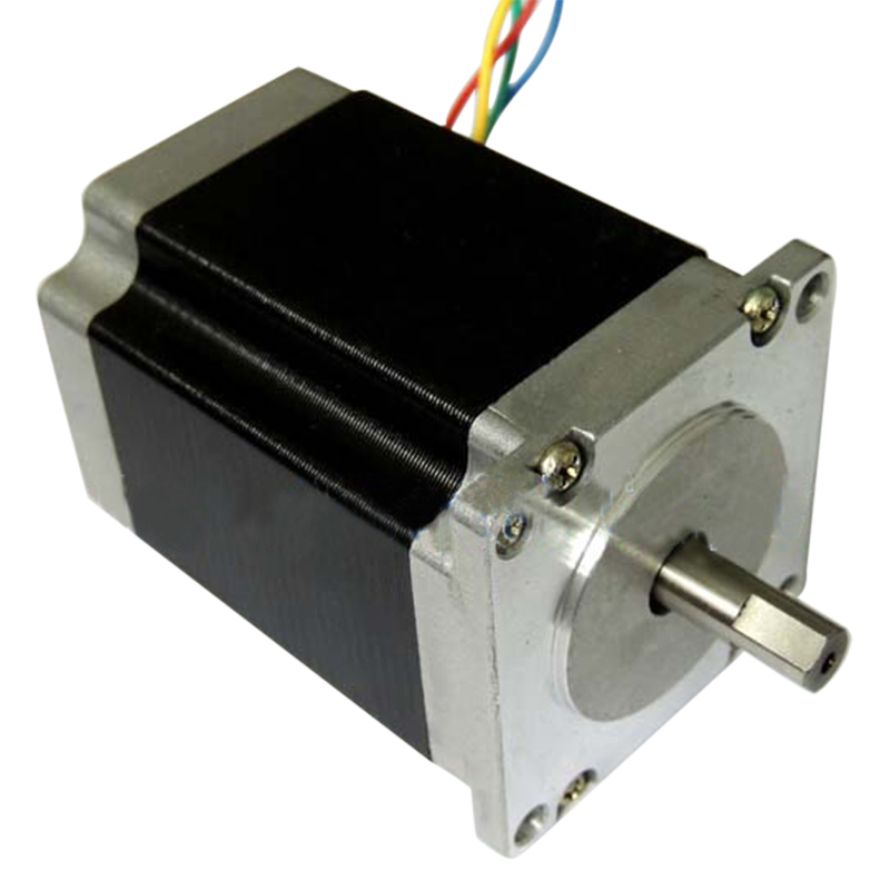 цена на Nema23 Stepper Motor 23HS8430 4-Lead Motor Driver 76mm 2.8A Router Engraving Machine for 3D Printer CLH@8