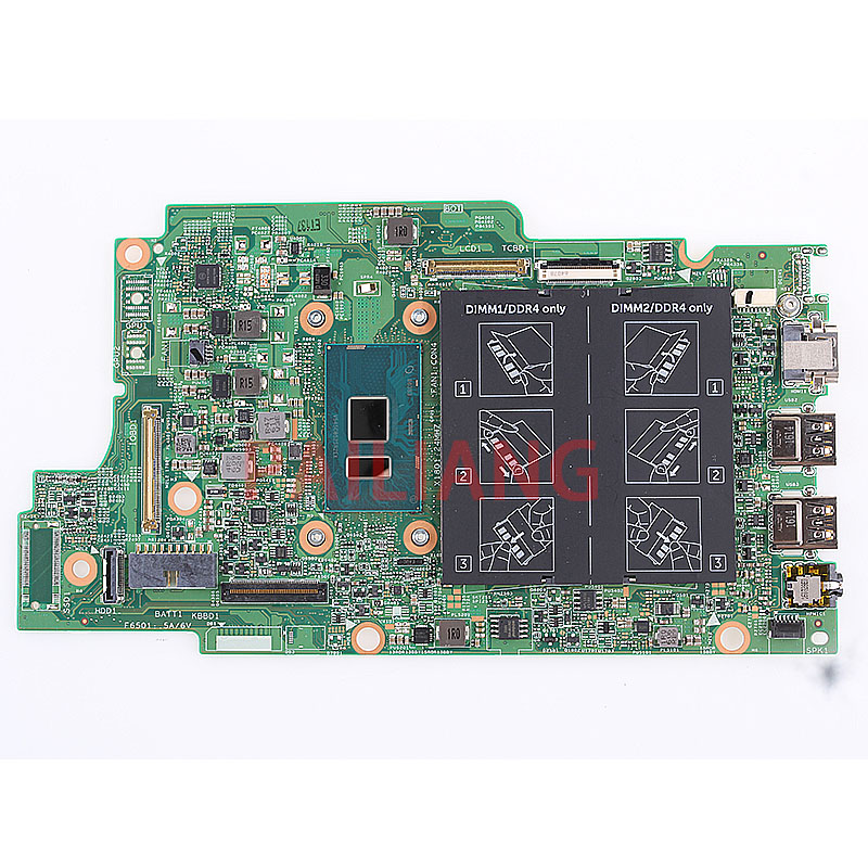 PAILIANG Laptop motherboard for DELL Inspiron 5368 5568 PC Mainboard 4405U 0C1HX7  tesed DDR4-in Motherboards from Computer & Office    1